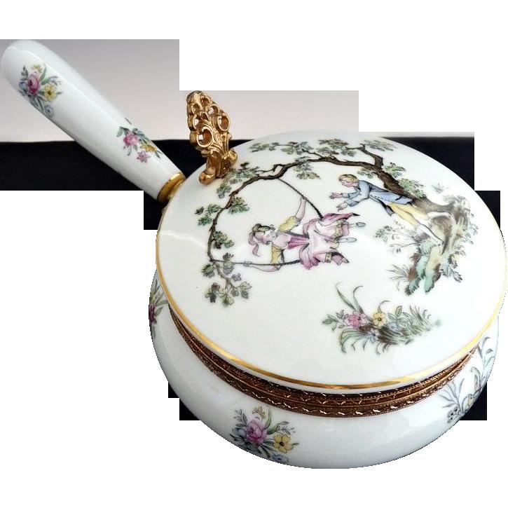 Vintage porcelain silent butler cigar cigarette Japan c. 1940s
