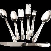 Vintage silver flatware Wm Rogers Hiawatha Memory c. 1937