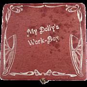 Vintage German sewing kit My Dolly's