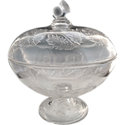 EAPG Thistle compote Bryce Walker & Co. c. 1872