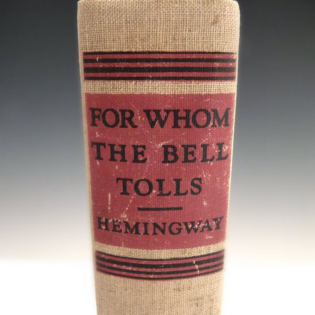 a review of the novel for whom the bell tolls by ernest hemingway Fidel castro said for whom the bell tolls was his favorite novel he read it in a  prison in santiago in the early 1950s but don't let his opinion.