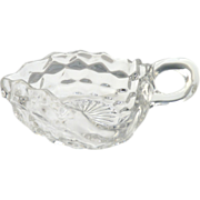Fostoria glass nappy dish American pattern