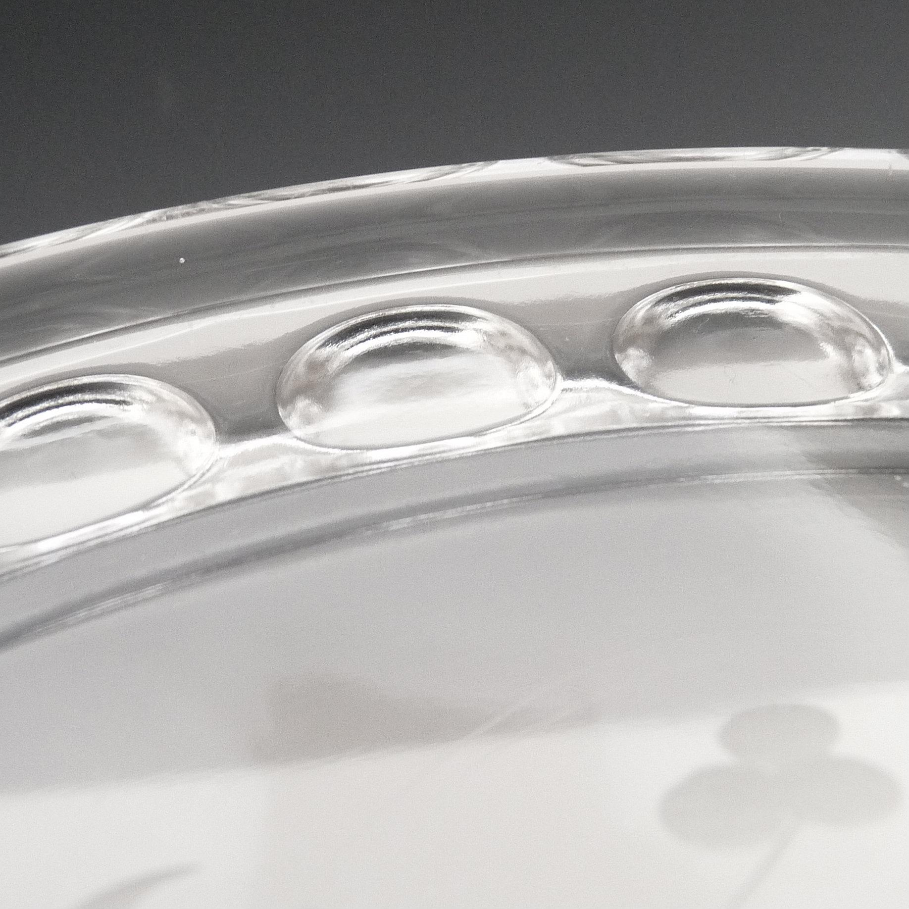 Eapg Etched Cake Stand