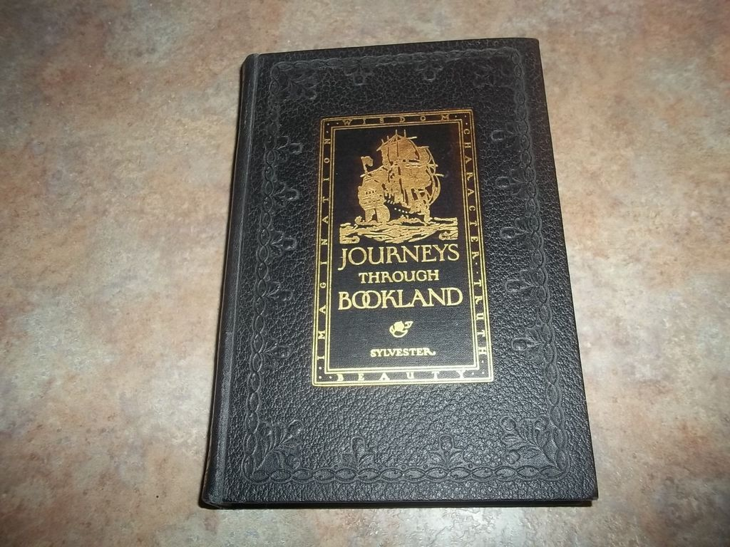Journeys Through Bookland C. 1922 Bellows-Reeve Co Volume 4
