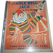 Jingle Bell Jack Children's Book C.  MCMLV Charming