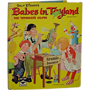 Babes In Toyland Walt Disney Whitman Children's Book C. 1961