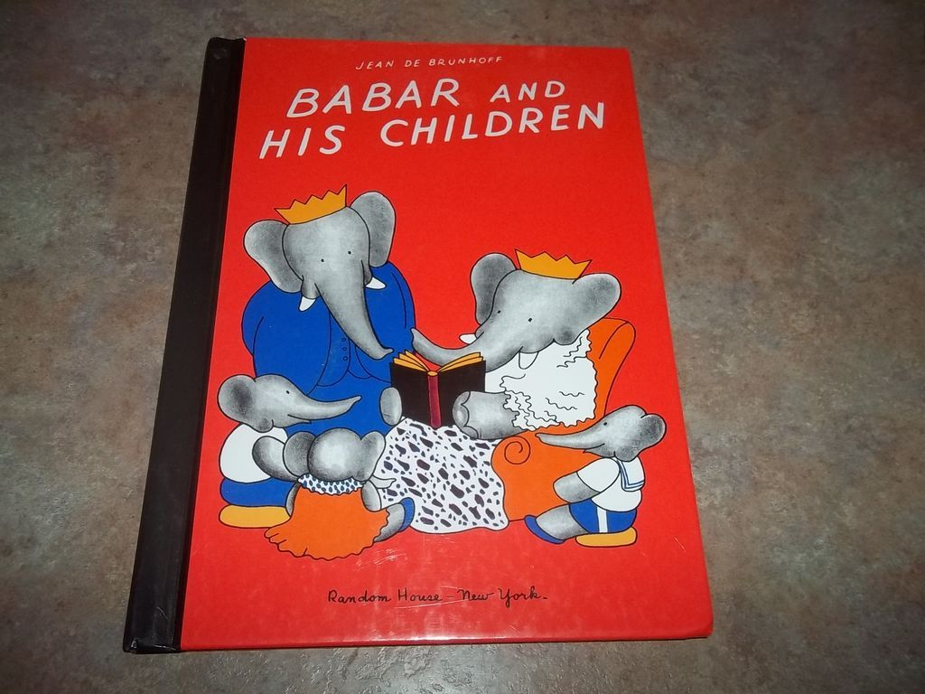 Book Babar and His Children Jean De Brunhoff