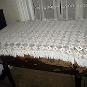 Vintage Crochet Table Piano Runner