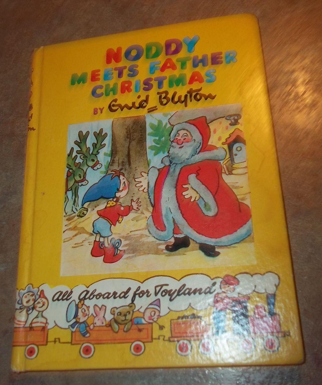 Noddy Goes To School Enid Blyton 1952 HC Ex Cond #6