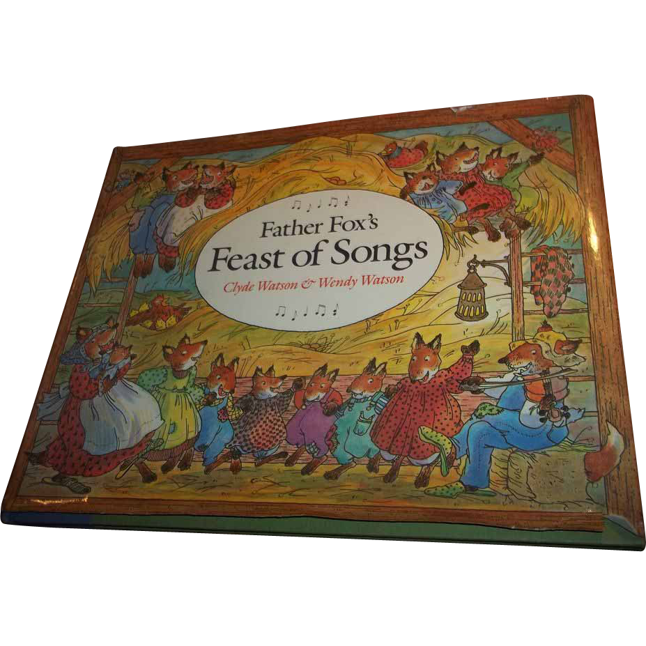 Father Fox's Feast of  Songs Children's Song Book