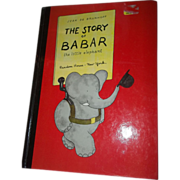 Jean De Brunhoff The Story of Babar The Little Elephant Book