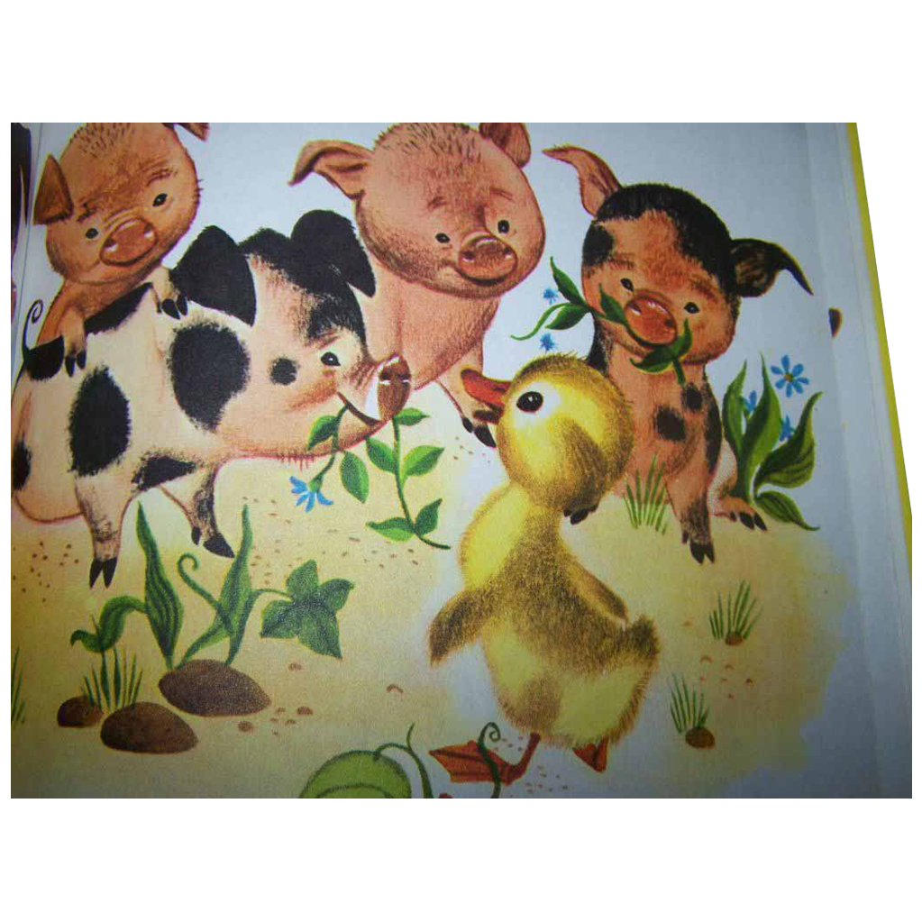 A Golden Book The Fuzzy Duckling   by Jane Werner
