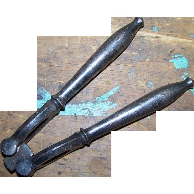 Victorian Era  Metalware Flip Style Adjustable Nutcracker Nut Cracker
