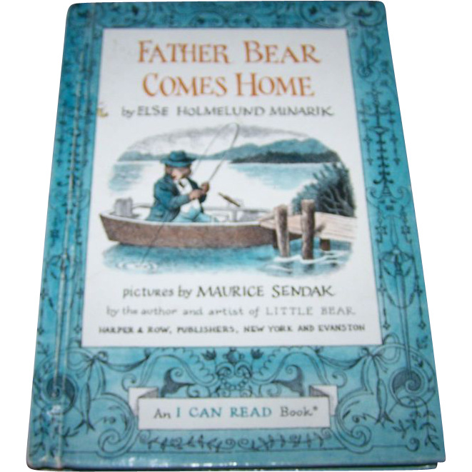 Father Bear Comes Home By Else Homelund Minarik H.C.