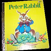 Children's Book The Tale Of Peter Rabbit A Little Golden Book  By Beatrix Potter
