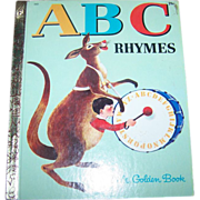 ABC Rhymes A Little Golden Book for Children Charming