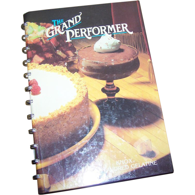 Cook Book The Grand Performer Knox Unflavored Gelatin
