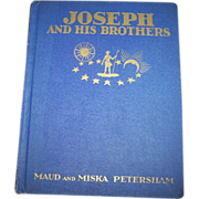 Vintage Children's Book Joseph And His Brothers