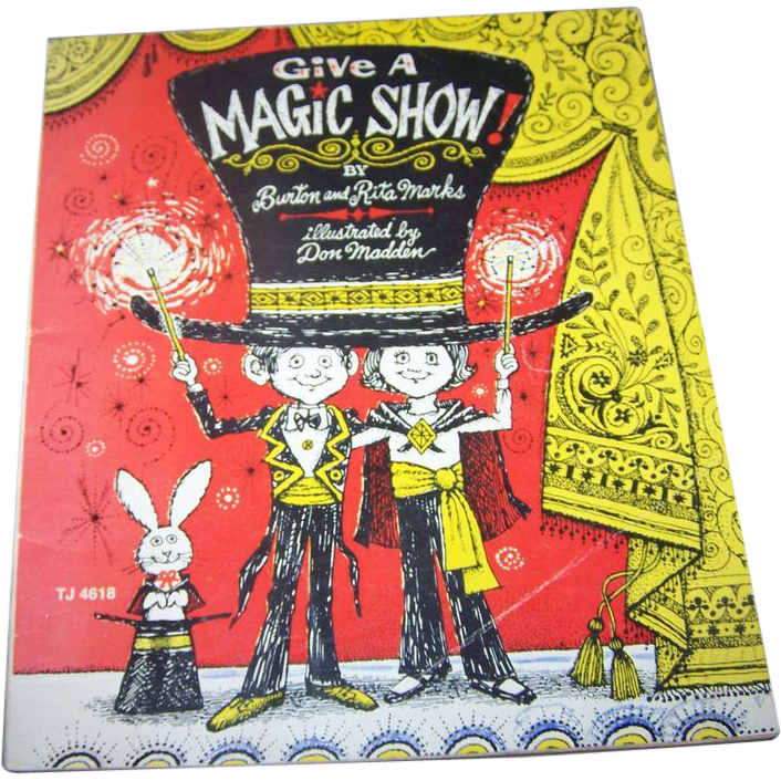 Soft Bound Children's Book Give A Magic Show