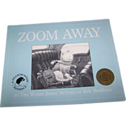 Soft Cover Children's Book ZOOM AWAY A Story About A Kitty Cat