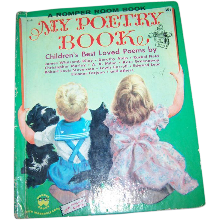 Charming Vintage Children's Romper Room  Book My Poetry