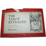 A Vintage Book C. 1960 The Tarot Revealed Eden Gray Fortune Destiny
