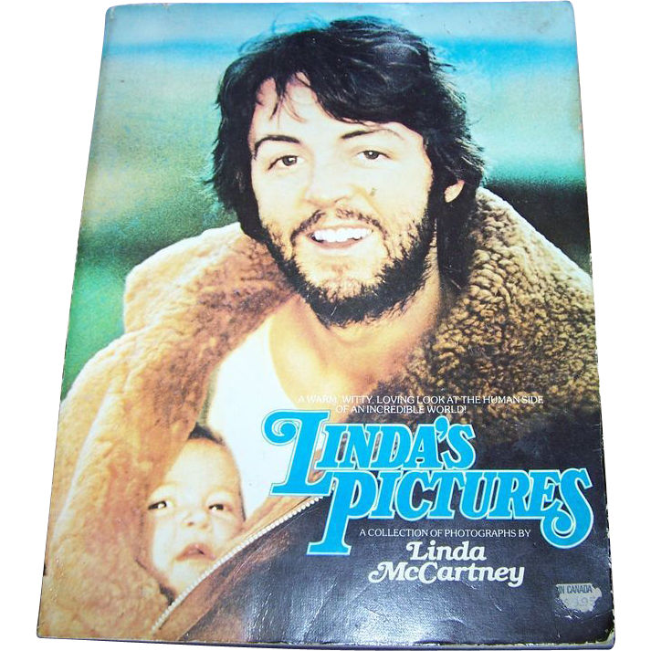 Linda's Pictures Soft Bound Book Photo Collection Linda McCartney