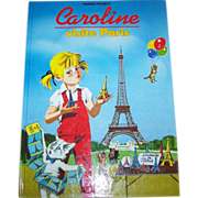 Caroline Visite Paris Children's Book French Version