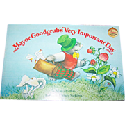 Soft Cover Book Mayor Goodgrub's Very Important Day