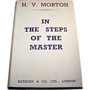 H.V. Morton In The Steps Of The Master Seventeenth Edition