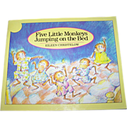 "Booklet Soft Bound Book "" Five Little Monkeys Jumping on the Bed """