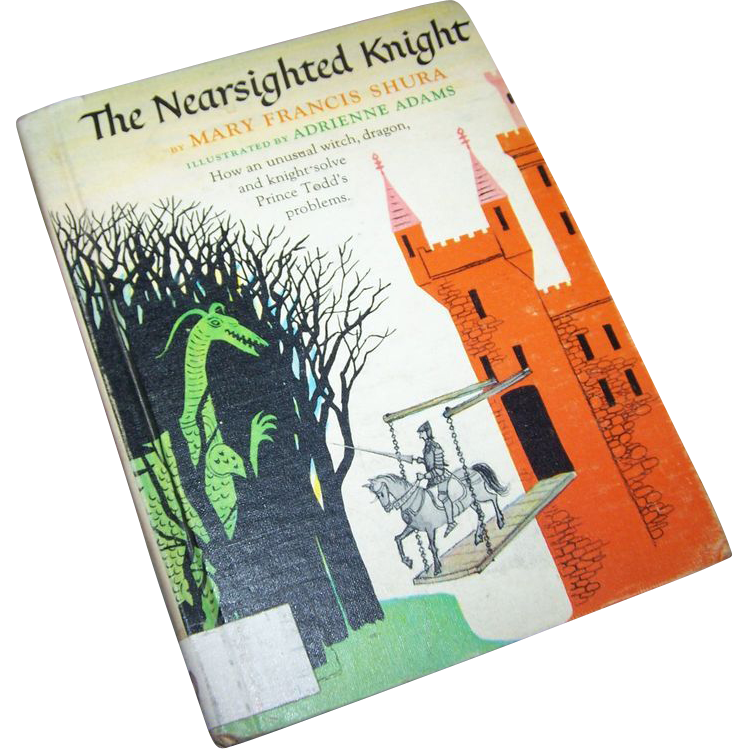 "Vintage Children's Book"" The Nearsighted Knight """