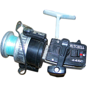 Used Vintage Mitchell Reel #4450 Made in France