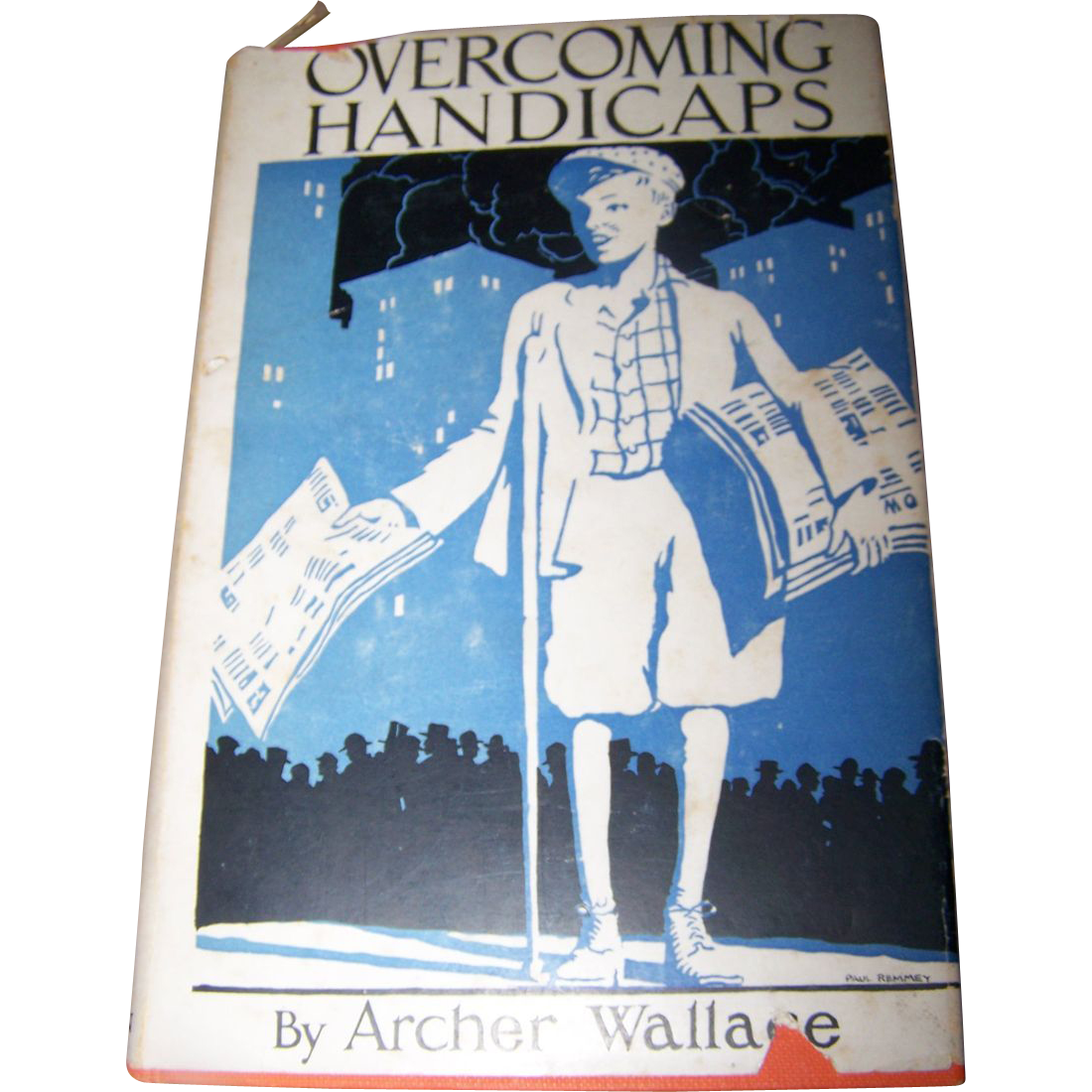 Over Coming Handicaps Hard Cover Book By Archer Wallace