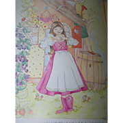 "Children's Collectible Book ""The Big Book Of Fairy Tales"" C. 1987"