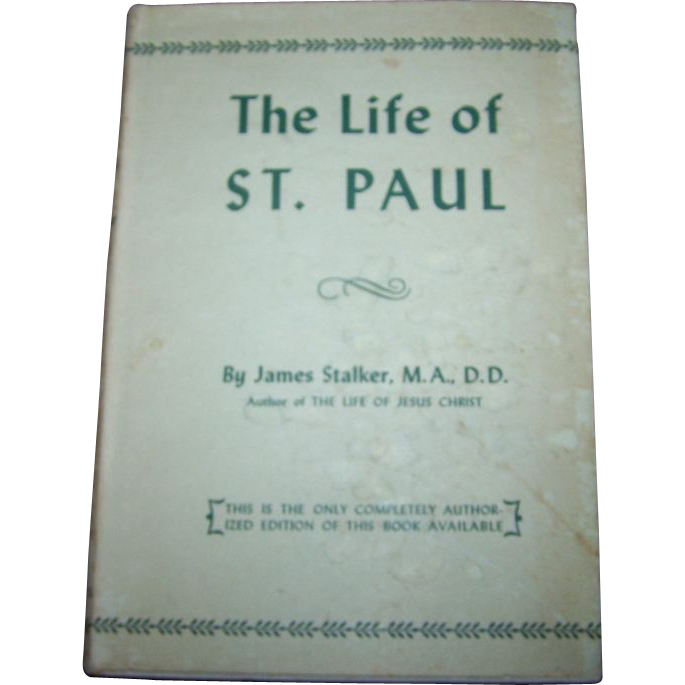 The Life of St. Paul Collectible Vintage Book