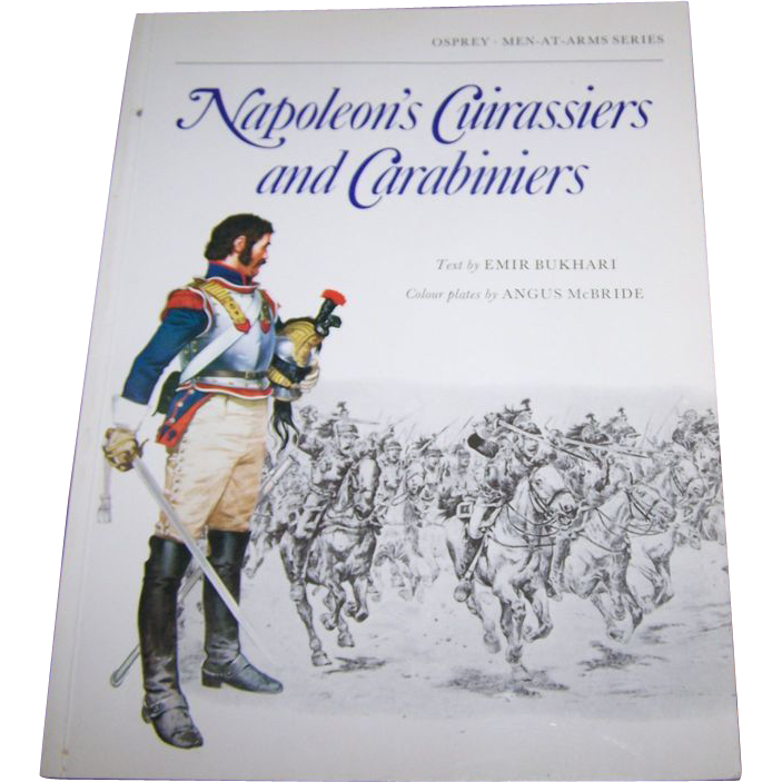 Book Soft Cover Booklet Napoleon's Cuirassiers and Carabiniers