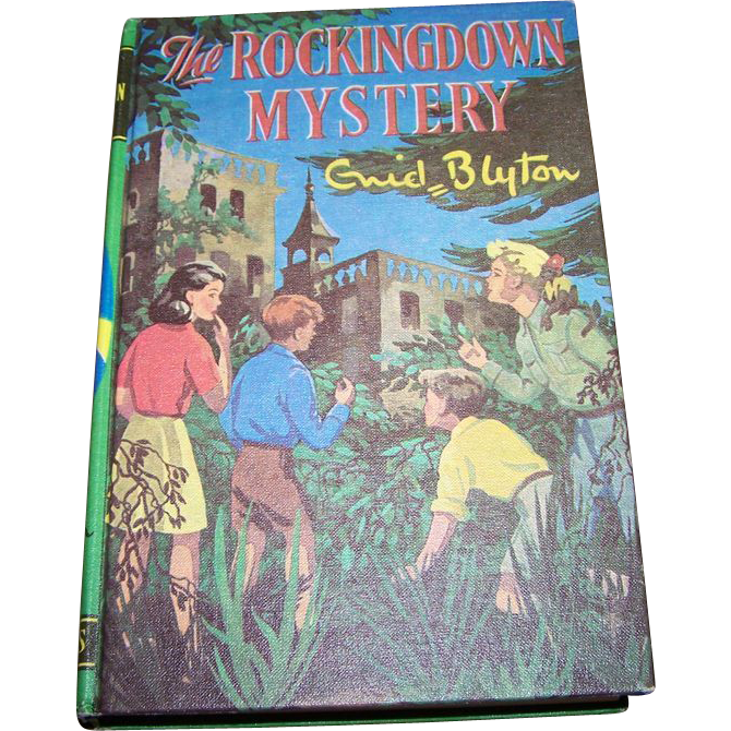 "Children's Book by Enid Blyton "" The Rockingdown Mystery """