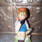 Vintage Ceramic Hummel Style Figurine By Erick Stauffer  Little Bohemian