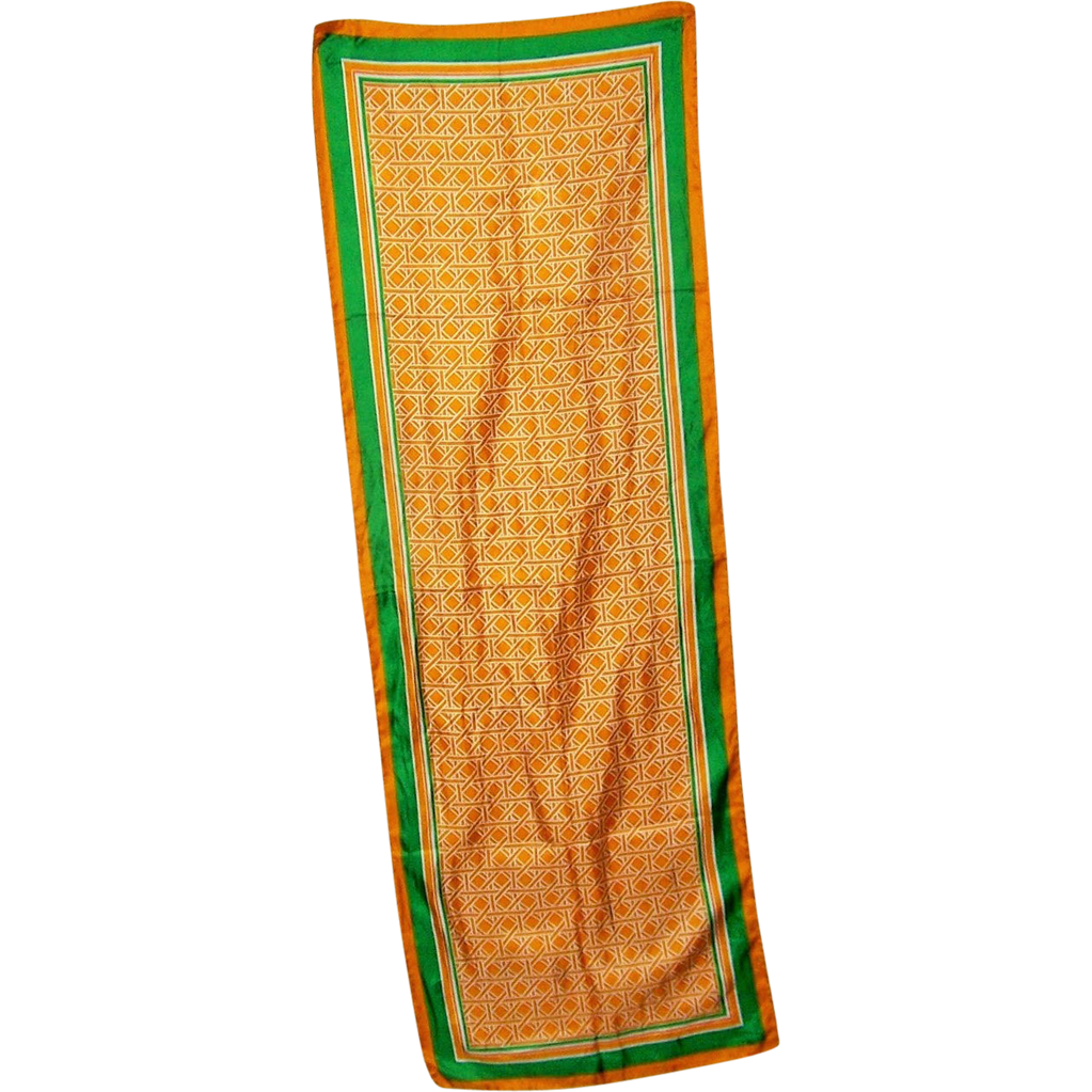 Lovely Long Vintage Geometric Print Rectangular Ladies Fashion Scarf
