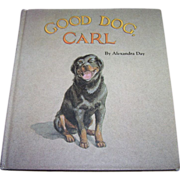 "Children's Book First Edition "" GOOD DOG CARL """