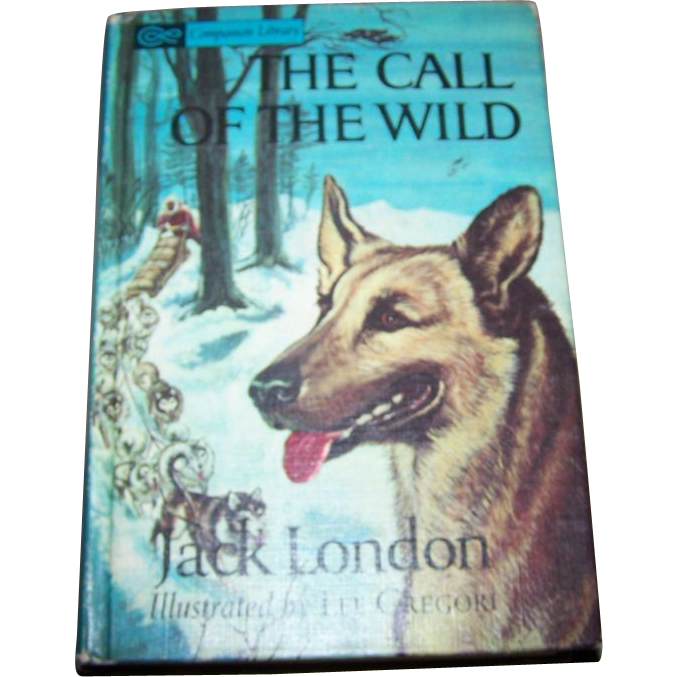 "2 Stories in One Companion Library Flip Book "" Black Beauty "" "" The Call Of The Wild """