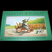 Children's Book Martin & Tommy Adapted by  Welleran Poltarnees