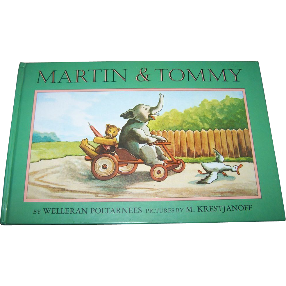 Children's Book Martin & Tommy Adapted by  Welleran Poltarnees