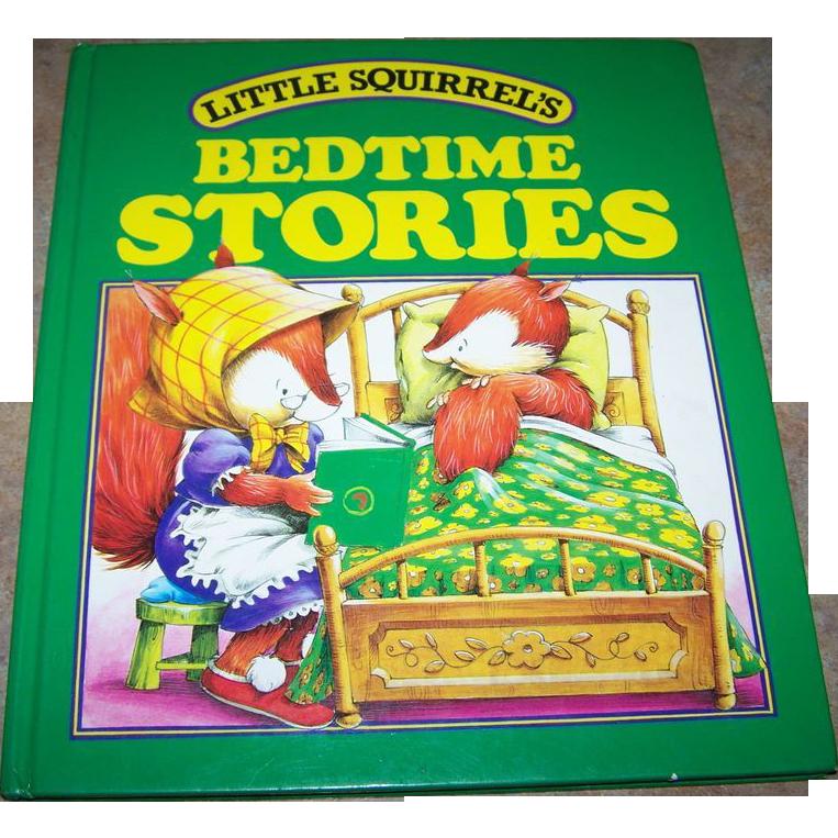 Little Squirrel's BEDTIME Stories Collectible Children's Book
