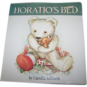 """A Charming Illustrated Children's Book by Camilla Ashforth """" Horatio's Bed """""""