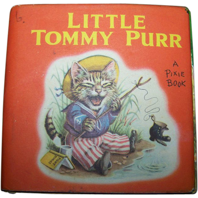 Little Tommy Purr A Pixie Book By Racey Helps Publisher Collins