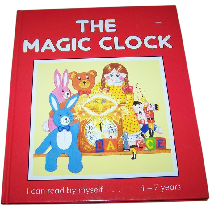 "Children's Book "" The Magic Clock "" I can read by myself 4-7 Years"