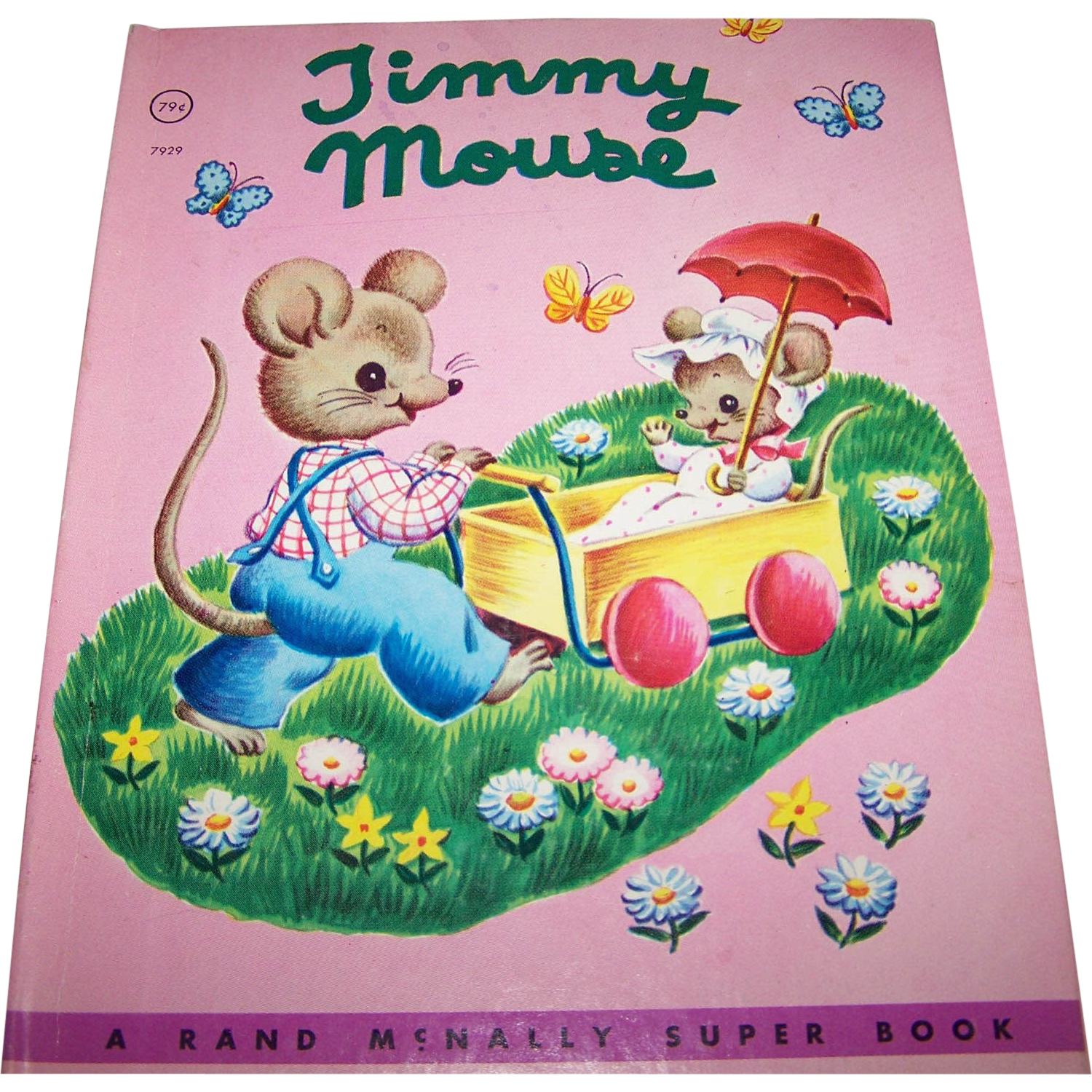 "Vintage Children's Book "" Timmy Mouse ""  By Miriam Clark Potter"