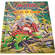 Masters of the Universe Maze of Doom Children's Book Heroic Champions